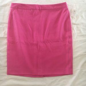Gap hot pink pencil skirt